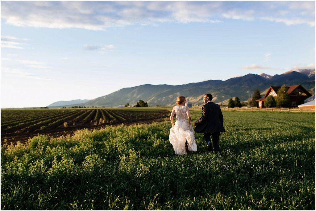 Bozeman Wedding roys barn