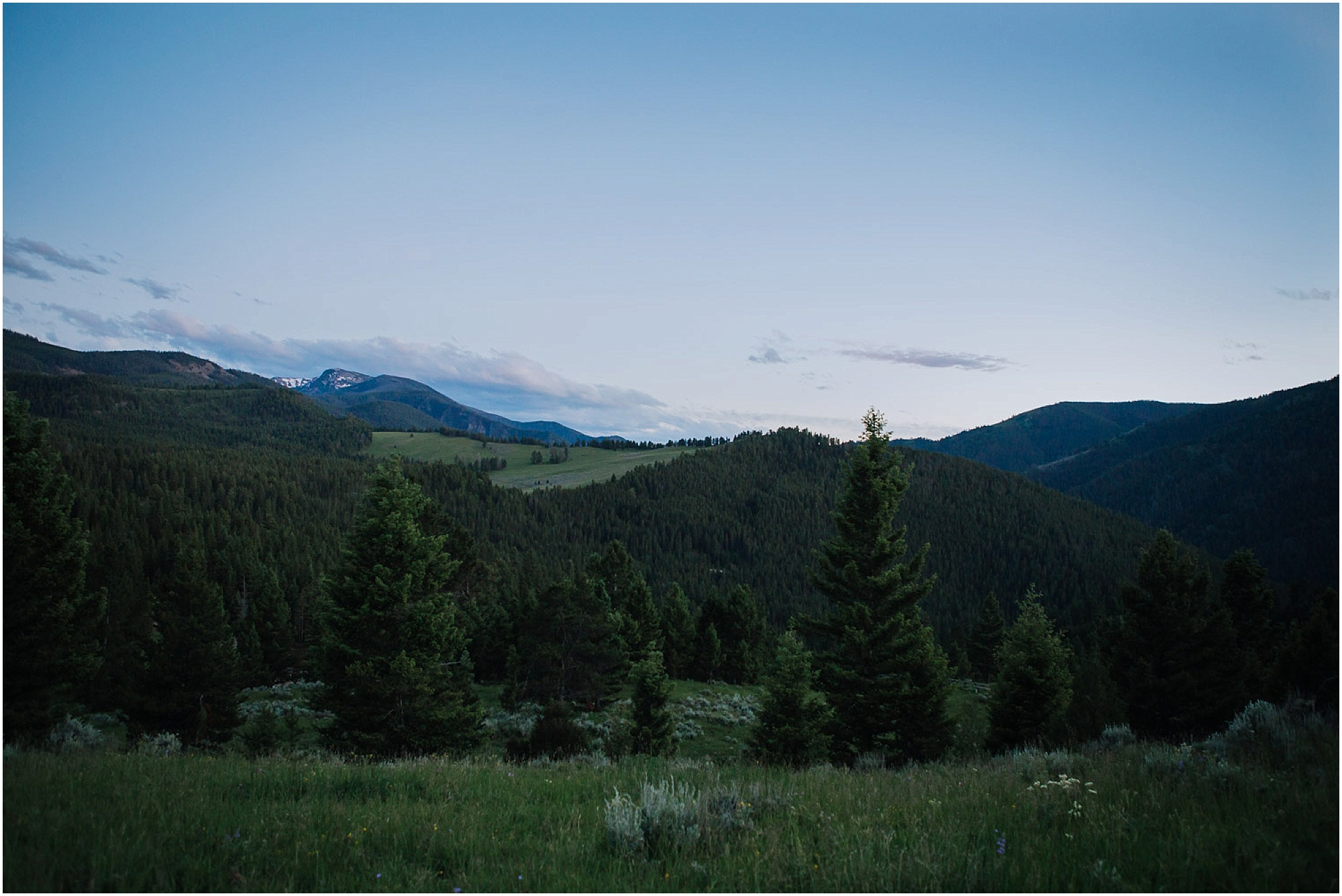 Bozeman mountain wedding photographer