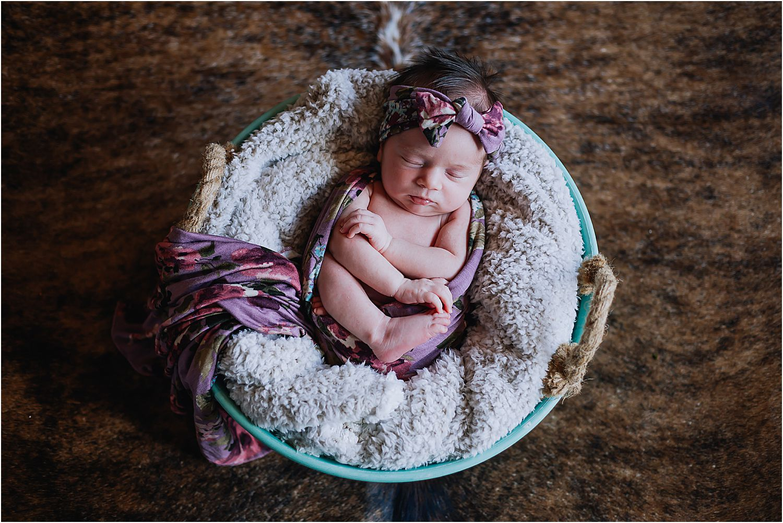 Eastern Montana Newborn Photography